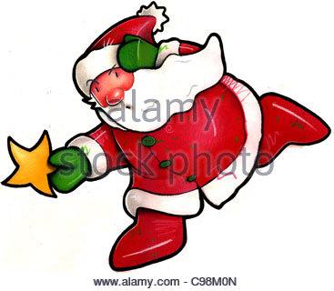 ... Funny Santa Claus Joke Funny Humor Funny Funny Funny Funny Humorous  Cartoon   Stock Photo