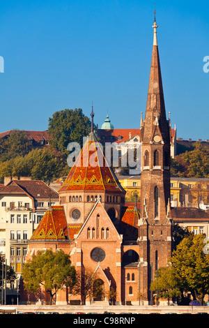 Budapest, Calvinist church - Stock Photo