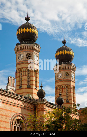 Budapest, Great Synagogue - Stock Photo