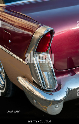 Classical American Buick 1956 Havana Cuba - Stock Photo