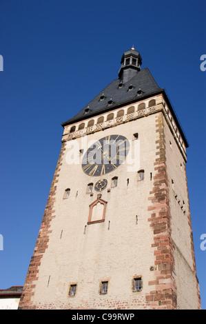 Altportel mediaeval gate, Speyer, Rheinland-Pfalz, Germany - Stock Photo