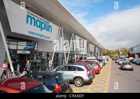 Centaurus Retail Park, Bristol - Stock Photo