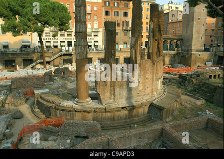 Area Sacra di Largo Argentina Rome - Stock Photo