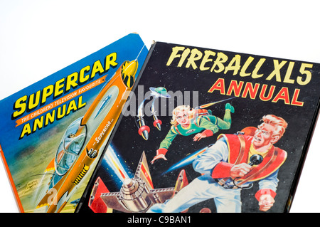 Two Annuals Dedicated To Gerry Anderson S Fireball And