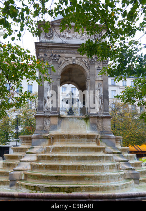 The Fontaine des Innocents, Paris, France - Stock Photo