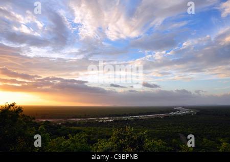 Viewpoint, Gonarezhou National Park , Zimbabwe - Stock Photo