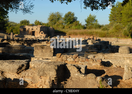 Olympia , Greece in Early Morning before the Crowds - Stock Photo
