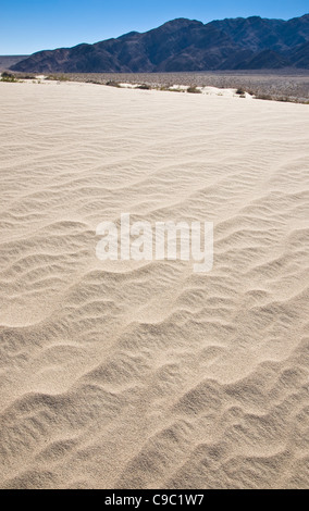 Sand Dune, Death Valley National Park, USA - Stock Photo