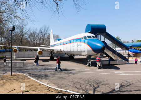 Lisa Marie Aeroplane, Graceland - Stock Photo
