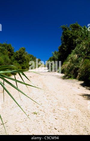 Prassano gorge, platanas, rethymnon, crete, greece. - Stock Photo