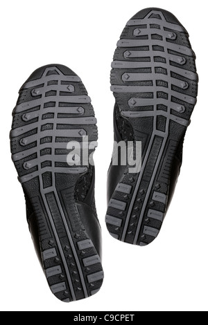 Sole of fashion sport shoes - Stock Photo