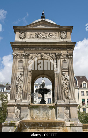 Fontaine des Innocents,  Paris - Stock Photo