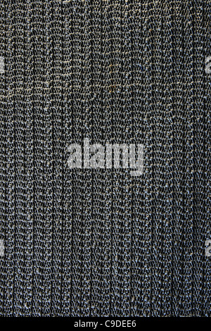 rubber black non-skid sticky netting pad background texture - Stock Photo