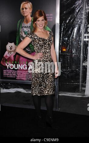 Kate Nowlin at arrivals for YOUNG ADULT Premiere, The Ziegfeld Theatre, New York, NY December 8, 2011. Photo By: - Stock Photo