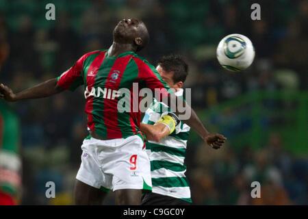 Portugal Cup Quarter final - Sporting CP (SCP) x SC Maritimo (SCM)  Diawara CS Maritimo Forward in front  Photo - Stock Photo