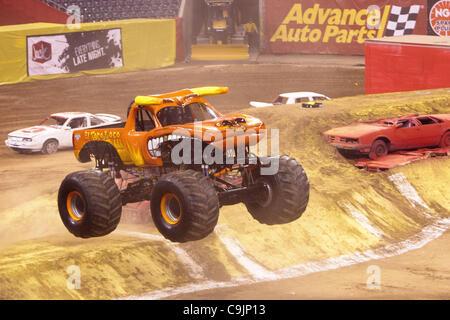 Monster Jam El Toro Loco With Damon Bradshaw Driver Stock