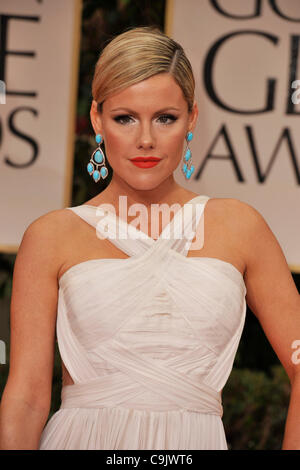 Jan. 15, 2012 - Beverly Hills, California, U.S. - KATHLEEN ROBERTSON arrives on the red carpet for the 69th annual - Stock Photo