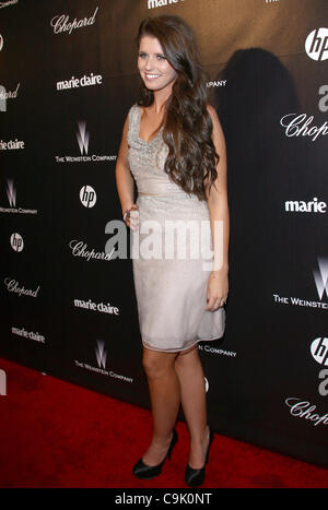 KATHERINE SCHWARZENEGGER THE WEINSTEIN COMPANY 2012 GOLDEN GLOBES AFTER PARTY BEVERLY HILLS LOS ANGELES CALIFORNIA - Stock Photo