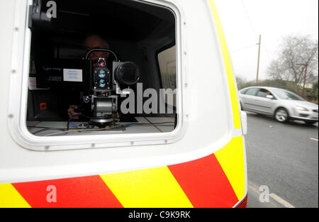mobile enforcement vehicle speed trap a57 hyde road speed