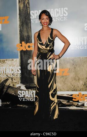 Cynthia Addai-Robinson at arrivals for SPARTACUS: VENGEANCE Series Premiere, Cinerama Dome at The Arclight Hollywood, - Stock Photo