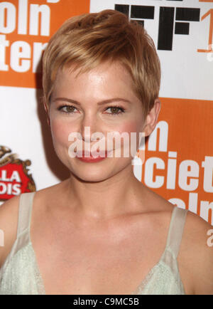 Jan. 12, 2012 - New York, New York, U.S. - Golden Globe Nominee's 2012 - MICHELLE WILLIAMS nominated for Best Performance - Stock Photo