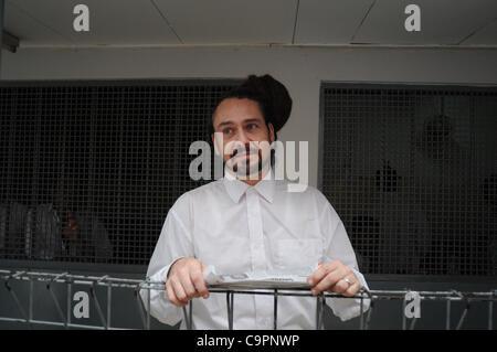 Feb. 9, 2012 - A Swedish citizen,ORJAN ROBERT ELEVSSON (38 years) the defendant smuggler of Methamfetamine during - Stock Photo