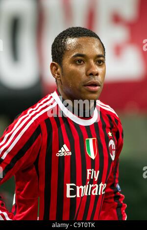 Robinho (Milan), FEBRUARY 15, 2012 - Football / Soccer : UEFA Champions League Round of 16, 1st leg match between - Stock Photo