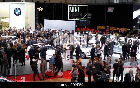 Geneva International Motor Show in Geneva, Switzerland, on Tuesday, March 6, 2012 / - Stock Photo