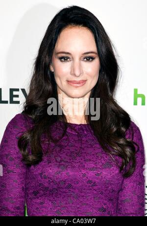 Madeleine Stowe at arrivals for REVENGE at PaleyFest 2012, Saban Theater, Los Angeles, CA March 11, 2012. Photo - Stock Photo