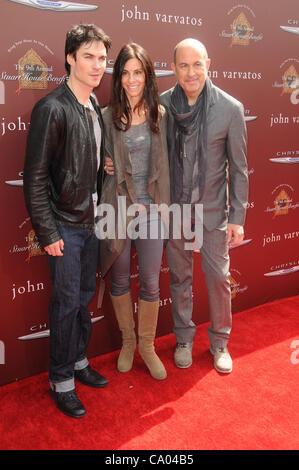 March 11, 2012 - Los Angeles, California, U.S. - Ian Somerhalder, John Varvatos Attending John Varvatos 9th Annual - Stock Photo