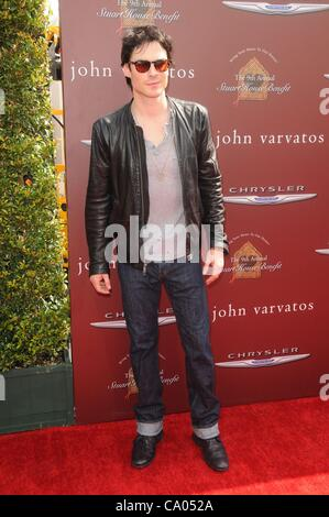 Ian Somerhalder at arrivals for The John Varvatos 9th Annual Stuart House Benefit, West Hollywood, Los Angeles, - Stock Photo