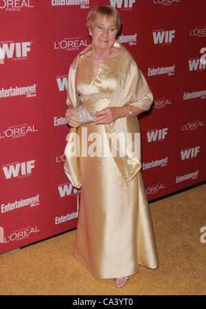 Sept. 16, 2011 - Los Angeles, California, U.S. - Kathryn Joosten.The 2011 Entertainment Weekly And Women In Film - Stock Photo