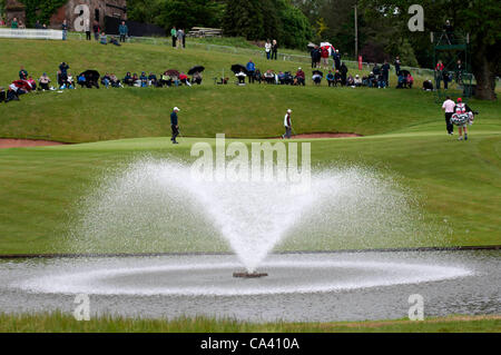3rd June 2012 - Celtic Manor Resort - Newport - South Wales - UK :   General view of the  ISPS Handa Wales Open - Stock Photo