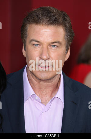 ALEC BALDWIN ROCK OF AGES. WORLD PREMIERE HOLLYWOOD LOS ANGELES CALIFORNIA USA 08 June 2012 - Stock Photo