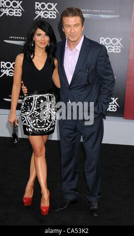 June 8, 2012 - Los Angeles, California, USA - Jun 08, 2012 - Los Angeles, California, USA - Actor ALEC BALDWIN, - Stock Photo