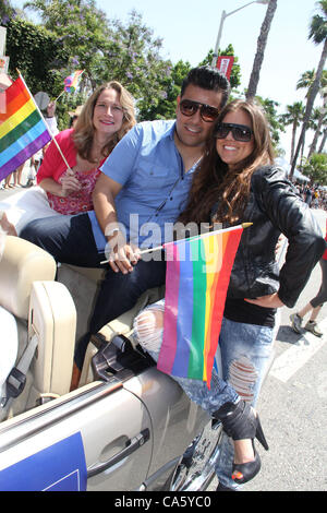 June 9, 2012 - Hollywood, California, U.S. - I15513CHW .Christopher Street West Los Angeles 2012 LGBT Pride Parade - Stock Photo