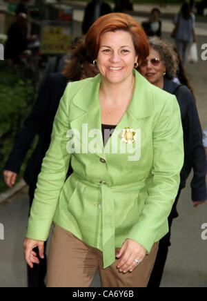 June 18, 2012 - New York, New York, U.S. - Council Speaker CHRISTINE QUINN attends the Public Theater 50th Anniversary - Stock Photo