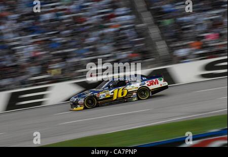 April 14, 2012 - Fort Worth, TX, USA - April 14, 2012 Ft. Worth, Tx. USA. Greg Biffle during the NASCAR Sprint Cup - Stock Photo