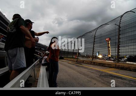 April 14, 2012 - Fort Worth, TX, USA - April 14, 2012 Ft. Worth, Tx. USA. NASCAR Sprint Cup Samsung 500 race at - Stock Photo