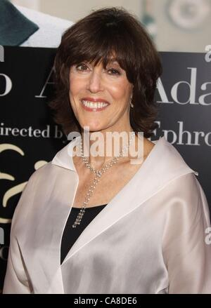 Jul 30, 2009 - New York, New York, USA - Author NORA EPHRON attends the New York premiere of 'Julie & Julia' held - Stock Photo