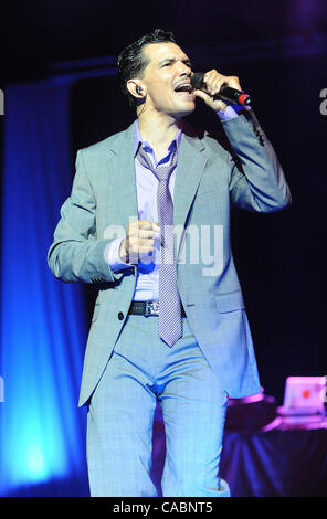 July 3, 2010 - New Orleans, Louisiana; USA - Singer EL DEBARGE performs live as part of the 2010 Essence Music Festival - Stock Photo