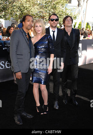 June 24, 2010 - Hollywood, California, U.S. - Metric during the Los Angeles Film Festival premiere of the new movie - Stock Photo