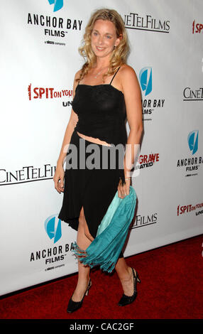 Sept. 29, 2010 - Los Angeles, California, U.S. - MOLLIE MILLIGAN Attending The Los Angeles Premiere Of I Spit On - Stock Photo