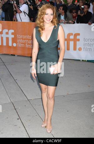 Sept. 12, 2010 - Toronto, ON, Canada - Rachelle Lefevre at the 2010  Toronto International Film Festival premiere - Stock Photo