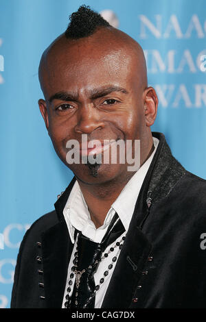 © 2008 Jerome Ware/Zuma Press  MAURICE JAMAL at the 2008 NAACP Image Awards held at the Shrine Auditorium in Los - Stock Photo