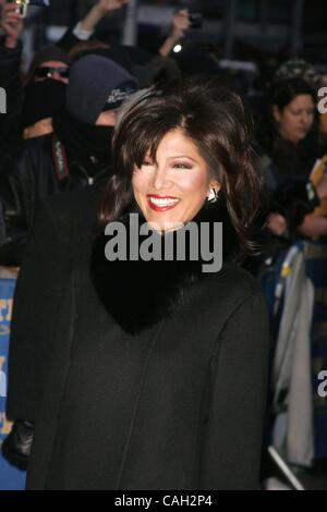 Jan. 28, 2008 - New York, New York, U.S. - GUESTS ARRIVE AT LETTERMAN SHOW.ED SULLIVAN THEATRE      01-28-2008. - Stock Photo