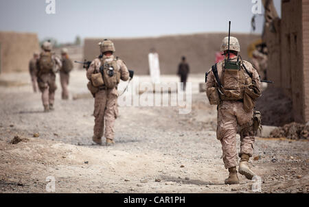 Marines With 3rd Platoon, Company I, Marine Combat Training Stock ...