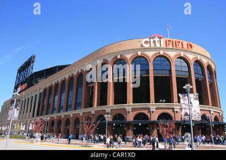 Citi Field in Queens, New York. - Stock Photo