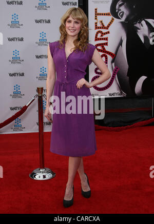 JENNY WADE CABARET 40TH ANNIVERSARY RESTORATION. WORLD PREMIERE. TCM CLASSIC FILM FESTIVAL HOLLYWOOD LOS ANGELES - Stock Photo