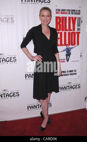 April 12, 2012 - Hollywood, California, U.S. - Los Angeles Premiere of ''Billy Elliot'' at the Pantages Theatre - Stock Photo